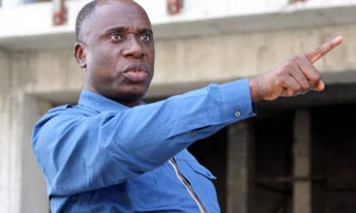 China Loan: Amaechi Points Accusing Finger At Jonathan