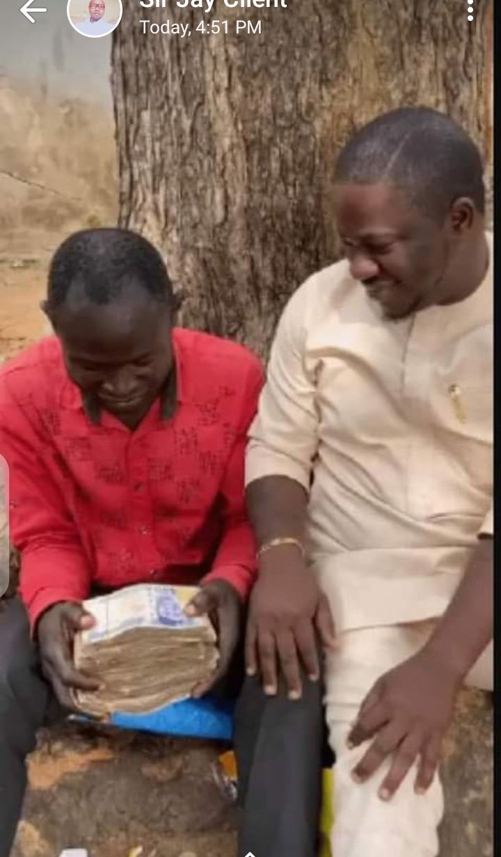 Screenshot 20200819 183557 - Philanthropist Gifts Man N1m After He Met Him Eating Fufu With Ordinary Water