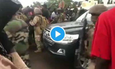 Moment Soldiers Arrested Mali President, Ibrahim Boubacar Keïta (Video)