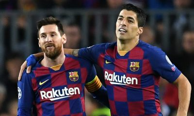 Luis Suarez Backs Messi's Decision To Leave Barcelona