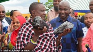 Tanzanian Miner 300x168 - Tanzanian Miner Who Recently Discovered Two Stone Worth $3.35m, Has found Another Worth $2m