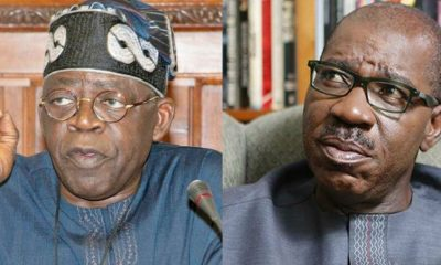 Tinubu Bombs Governor Obaseki Over Edo Assembly Crisis, Makes New Claims