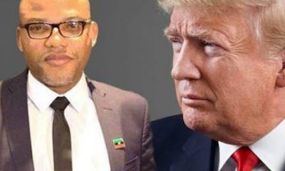 Biafra: Nnamdi Kanu Tables Fresh Request Before Trump's United States