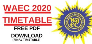 WASSCE 2020TimeTable 300x144 - Download WASSCE 2020 Time Table Here