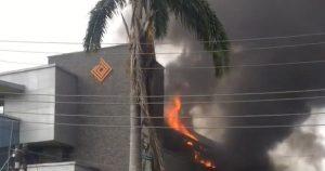 access bank 300x158 - Fire Guts Access Bank Branch In Lagos