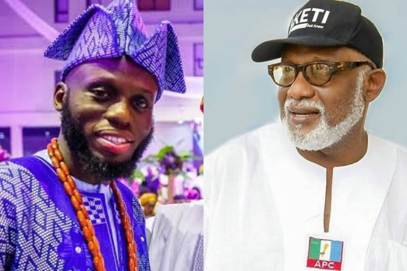 BREAKING: Akeredolu's Son Contracts COVID-19
