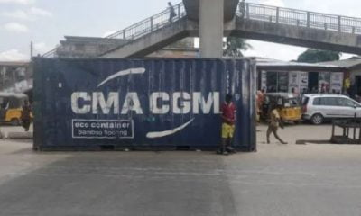 Breaking: Container Falls, Kills Two FAAN Staff, Others In Lagos