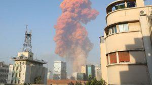 BREAKING: Massive Explosion Rocks Beirut, Lebanon (Video)