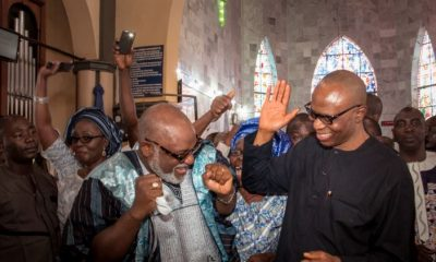 Akeredolu Speaks On Dragging Mimiko To EFCC