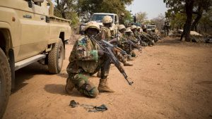 niger soldiers 5117995 300x169 - Military Destroys Houses Of Boko Haram Leaders