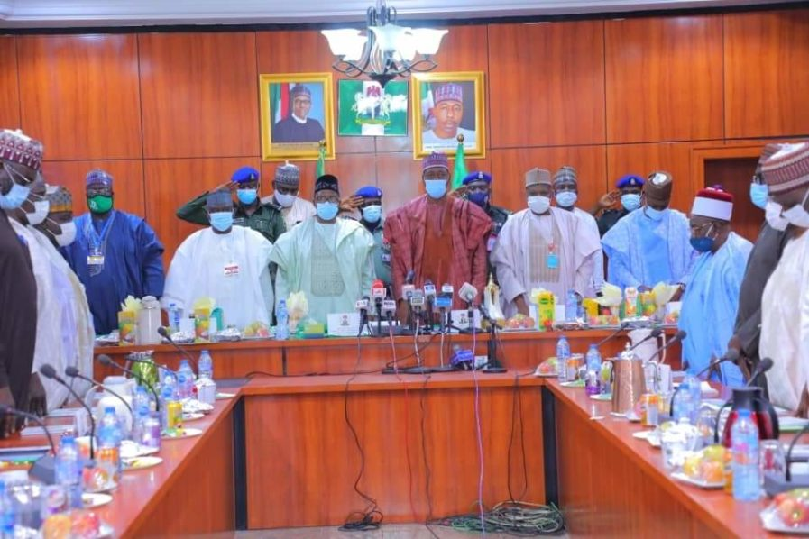 Insecurity: What North-East Governors Discussed At Meeting [Full Text]