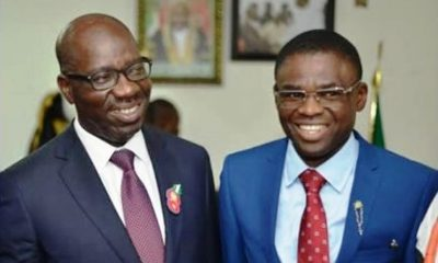 Edo: How Obaseki, Dep. Gov. Shaibu Clashed Over Campaign Funds