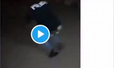 Watch Air Force Operative On Mufti Punishing Police Officer Who Accused Him Of Being A Yahoo Boy
