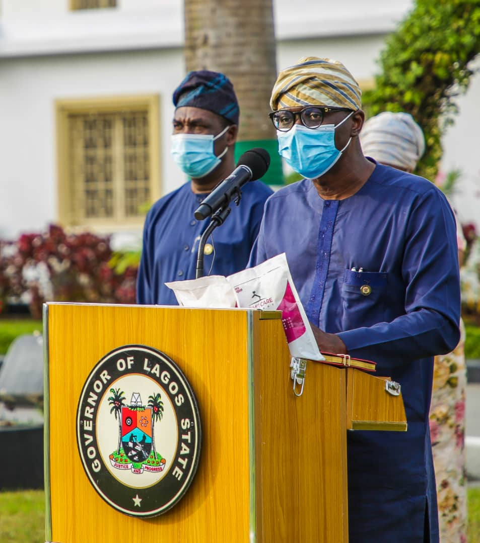 Governor Babajide Sanwo-Olu of Lagos State says any malaria-like symptoms should now be considered and treated as COVID-19 until proven otherwise.
