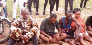 suspect 2 300x147 - Police Arrest Imo Monarch, Pastor For Alleged Kidnap