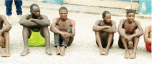 suspects 300x126 - Nasarawa: NSCDC Arrests Suspected Killer Of Monarch