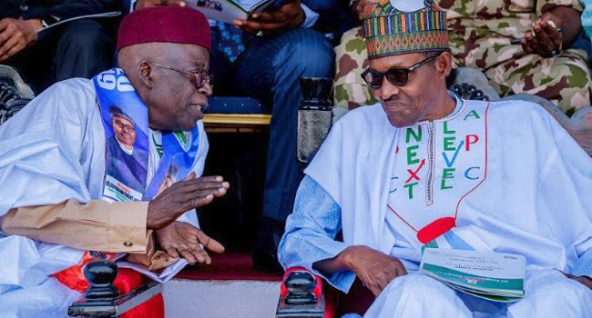Just In: Buhari Meets Ize-Iyamu As Tinubu, Lawan Storm Edo For APC Campaign