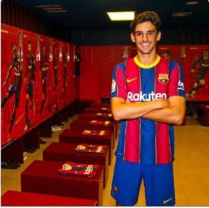 "tricaio 300x298 - Barcelona Signs New Striker ""Francisco Trincao"""