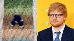 114194654 sheeranchild 300x169 - Ed Sheeran And Wife Announce Birth Of Daughter Lyra