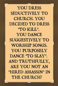 118671113 10157240273116831 1416035391111934983 n 202x300 - You Are An Assassin If You Dress And Dance Seductively In Church- Mike Bamiloye