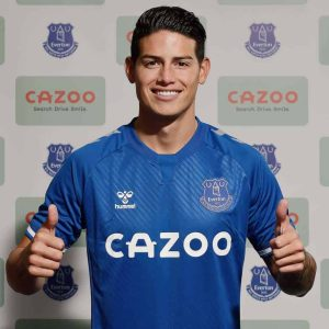 5357 300x300 - Transfer: James Rodriguez Completes His EPL Move To Everton