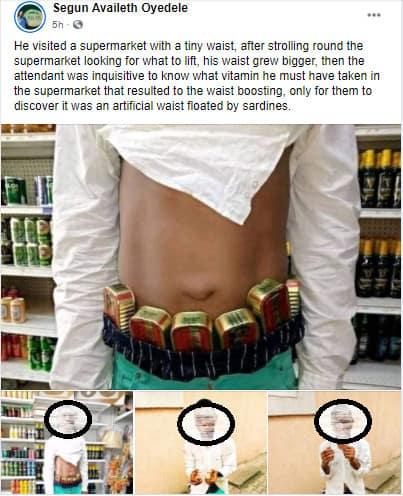 5f4ec7b604b35 - Man Caught With Six Stolen Tins Of Sardine Inside A Supermarket (Photos)