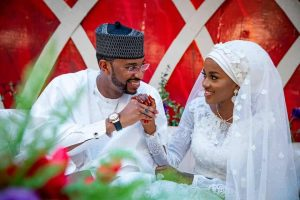 5f53177d23fcd 300x200 - Watch Video Of How Guests Sprayed Money At Buhari's Daughter's Wedding