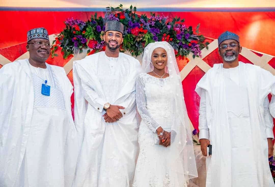 5f53179a77720 - Photos From The Wedding Of President Buhari's Daughter, Hanan