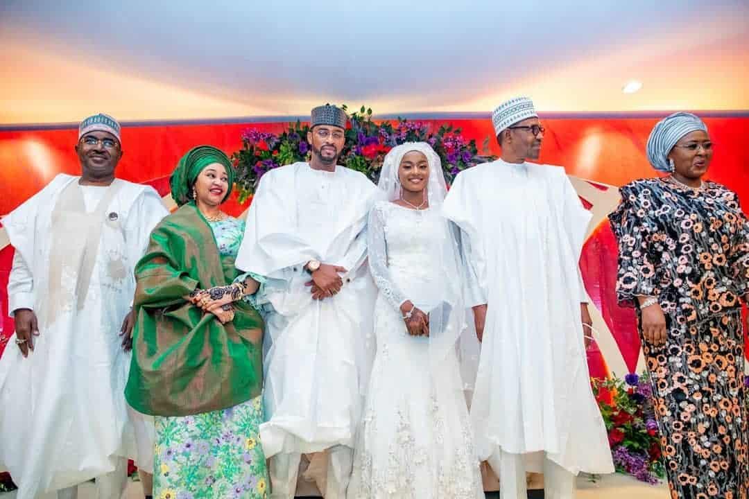 5f5317a7c9cc2 - Photos From The Wedding Of President Buhari's Daughter, Hanan