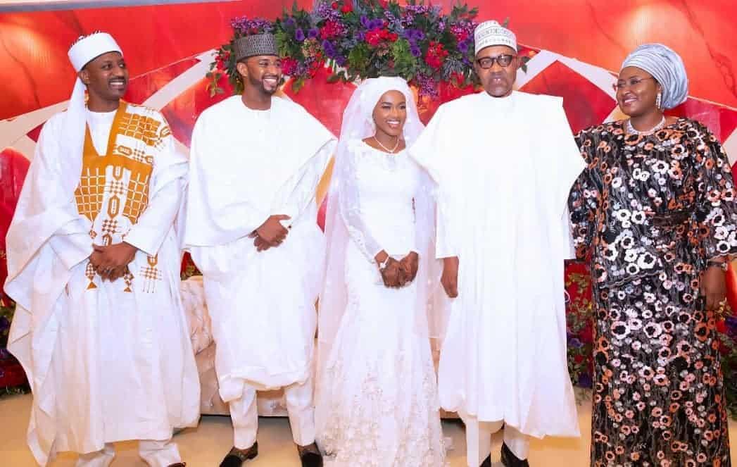 5f5317b6ce79e - Photos From The Wedding Of President Buhari's Daughter, Hanan