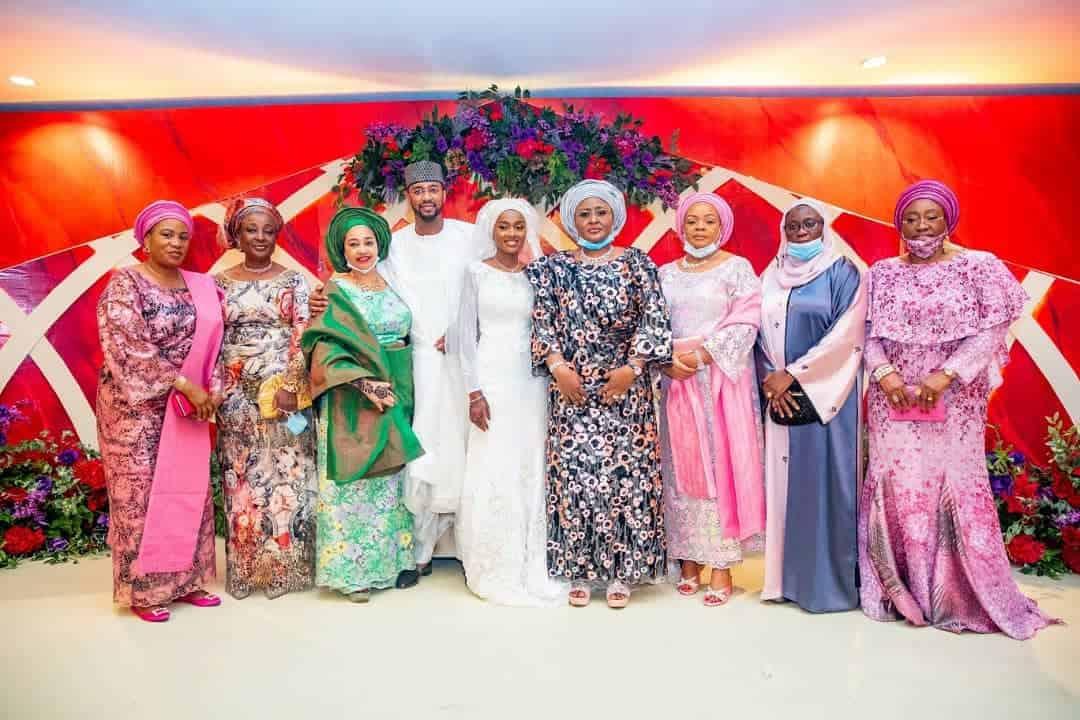 5f5317e6f225f - Photos From The Wedding Of President Buhari's Daughter, Hanan