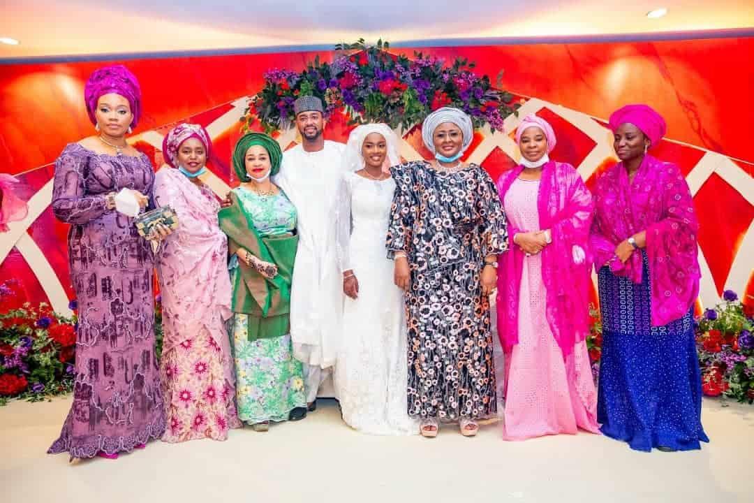 5f5317f7c21ec - Photos From The Wedding Of President Buhari's Daughter, Hanan