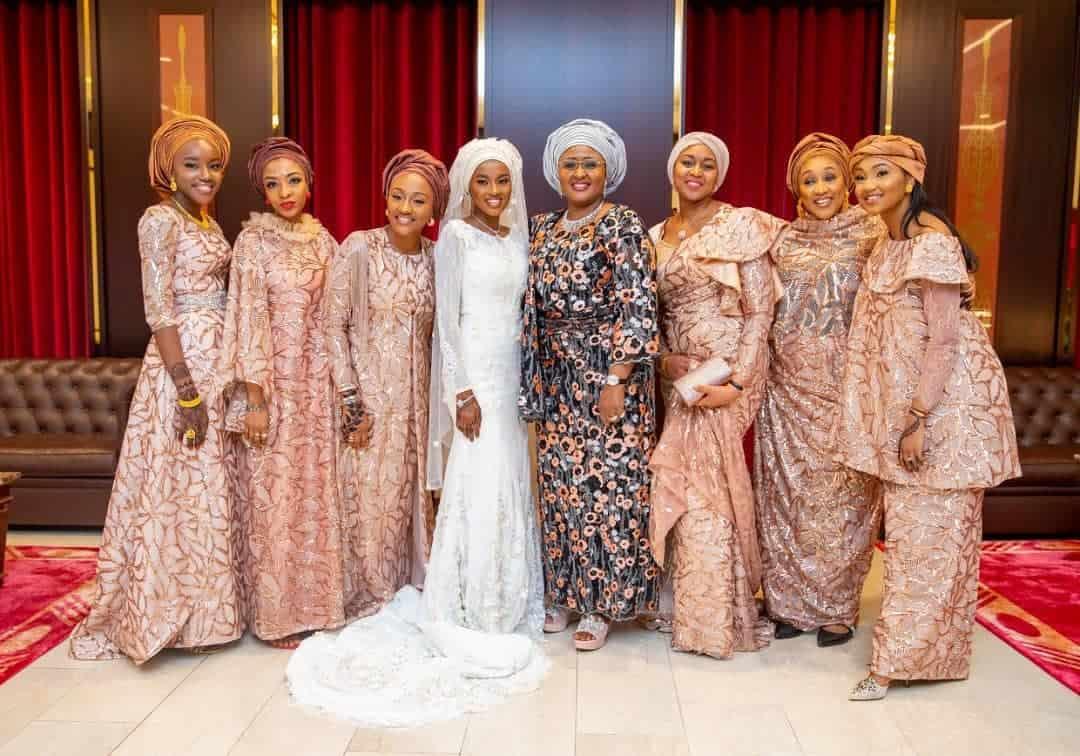 5f53180995314 - Photos From The Wedding Of President Buhari's Daughter, Hanan