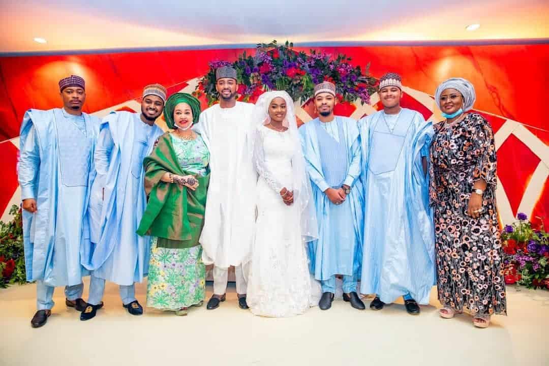 5f53181ba23c5 - Photos From The Wedding Of President Buhari's Daughter, Hanan