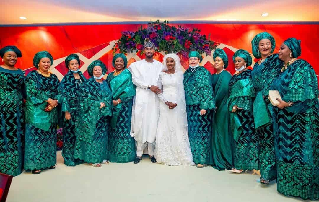5f53182b6c008 - Photos From The Wedding Of President Buhari's Daughter, Hanan