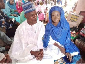 5f55489cbcce8 300x225 - Photos: Blue-Eyed Woman Marries Again In Kwara