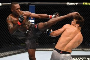 JUST IN: Israel Adesanya Defeats Paulo Costa Via TKO In #UFC253 (Video)