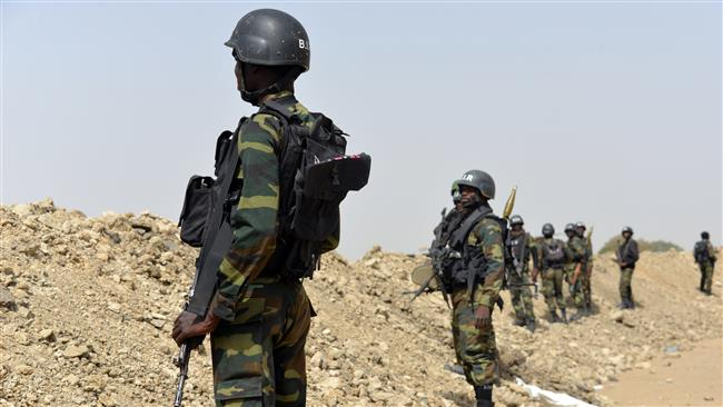 File image: Cameroonian Soldiers