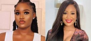 Cee C and Erica 300x137 - Ex-BBNaija Star Cee C Reacts To Erica's Disqualification FromBig Brother