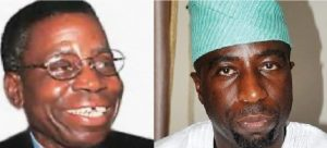 Chief bola ige and son 300x136 - Bola Ige Knew Of Plan To Ambush, Kill Him Before His Assassination – Son