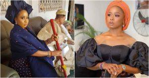 DF1B225E 5E6F 4641 B52A 3EE83F34CAEA 300x157 - Has Alaafin Of Oyo's Wife, Queen Ola Allegedly Divorced Him ?