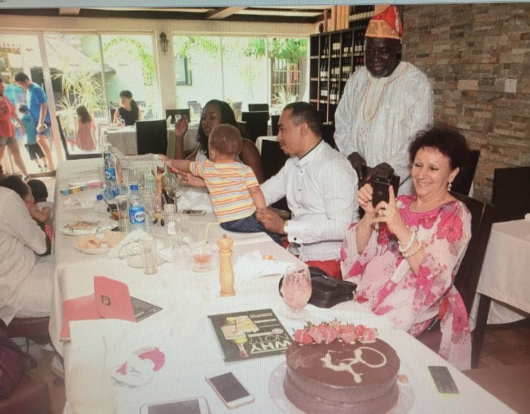 Daddy Freeze family 2 - Daddy Freeze Responds To Pastor Ibiyeomie's 'Bastard' Challenge By Sharing Photos Of His Dad And Mum