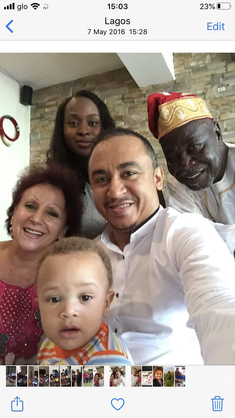 Daddy Freeze family - Daddy Freeze Responds To Pastor Ibiyeomie's 'Bastard' Challenge By Sharing Photos Of His Dad And Mum