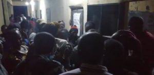 Edo INEC img 300x147 - #EdoDecides: INEC Ad-hoc Staff Protests Over Unpaid Allowances – [Video]