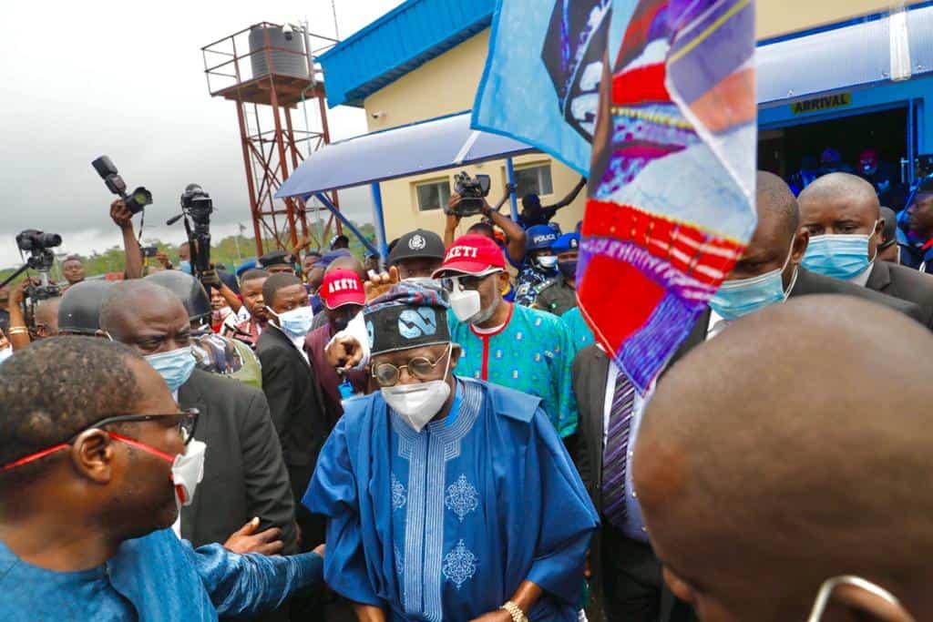EhJX3CPXYAApYAi - Ondo 2020: Tinubu, Akande Storm Akure For APC's Akeredolu Campaign (Photos)