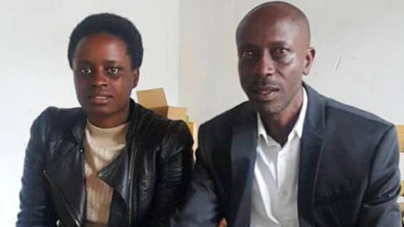 Grace Umutoni and Antoine Rugagi travel to Kigali for DNA testing to confirm relationship