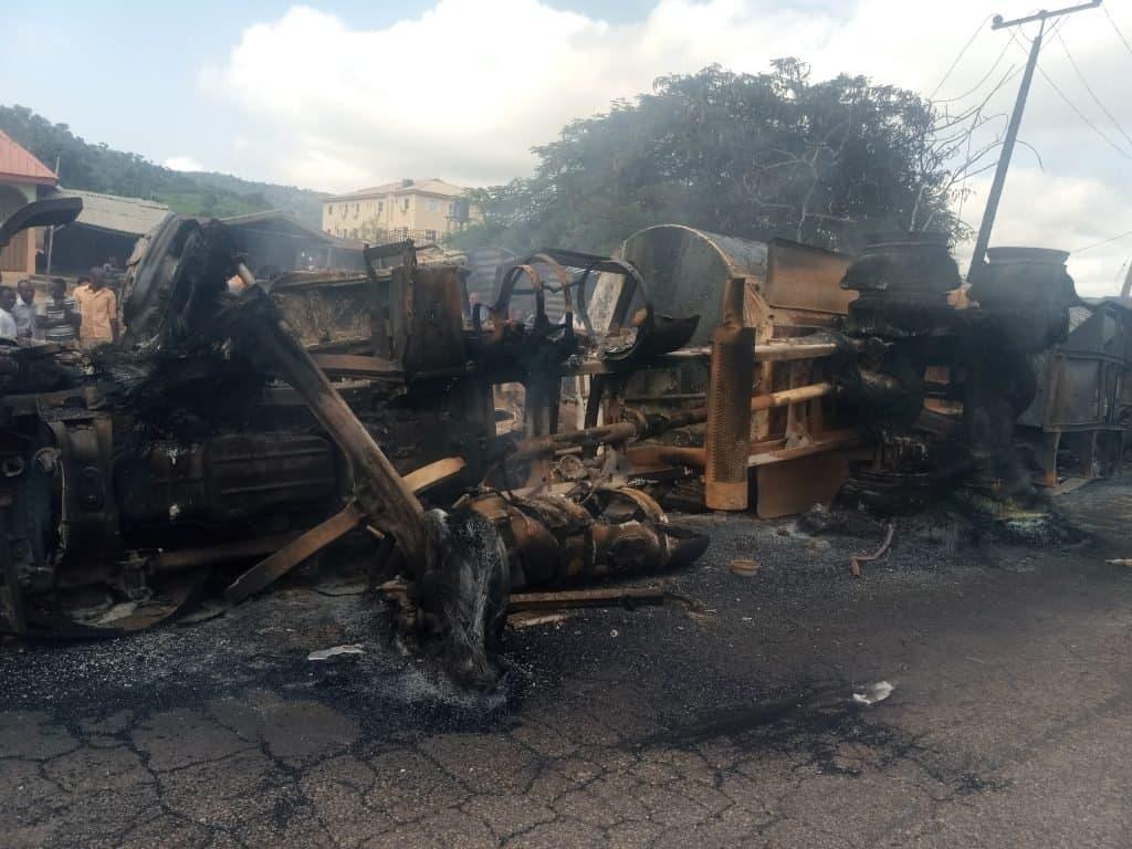 Ten dead in Lokoja tanker explosion