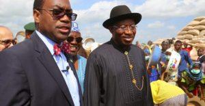 Jonathan congratulates Dr Adesina1 678x350 1 300x155 - AfDB: Adesina Will Not Disappoint Africa – Goodluck Jonathan