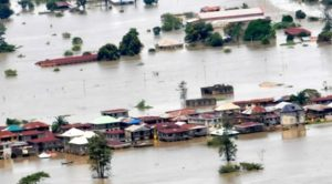 Kano flood 300x166 - Floods Destroy More Than 24,000 Homes, Kill 24 In Kano