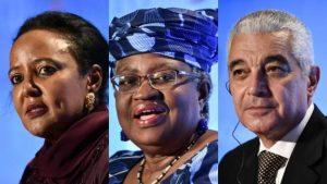 Kenyas Amina Mohamed and Nigerias Ngozi Okonjo Iweala are among the candidates 300x169 - WTO DG: Okonjo-Iweala, 4 Others Sail Through First Round